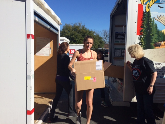donation of boxed items
